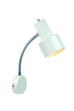 Vägglampa Glommen Vit - Markslöjd