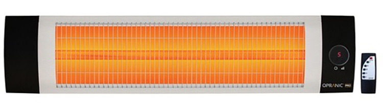 Infravärme Pro 1,4-2,3kW IPX5 Vit - Opranic