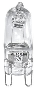Halogenlampa G9 28W 2-Pack - Airam
