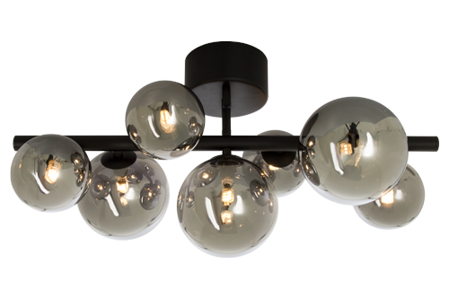 Plafond Molekyl Svart - Scan Lamps