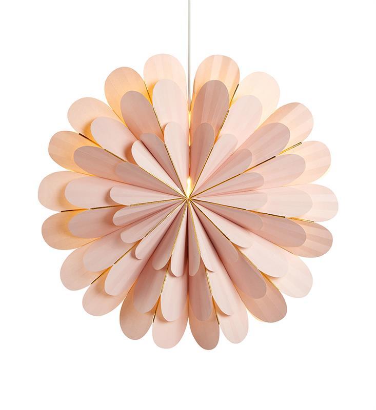 Julstjärna Marigold Rosa 60cm - Markslöjd