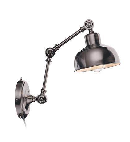 Vägglampa Grimstad Antiksilver - Markslöjd