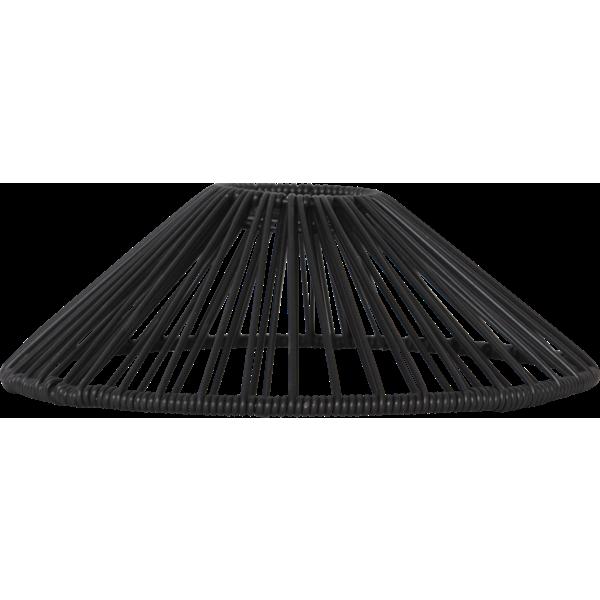 Lampskärm Vide svart 25cm - Star Trading