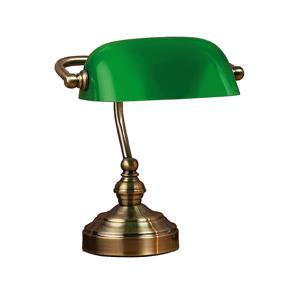 Bordlampa Bankers 25cm Grön - Markslöjd