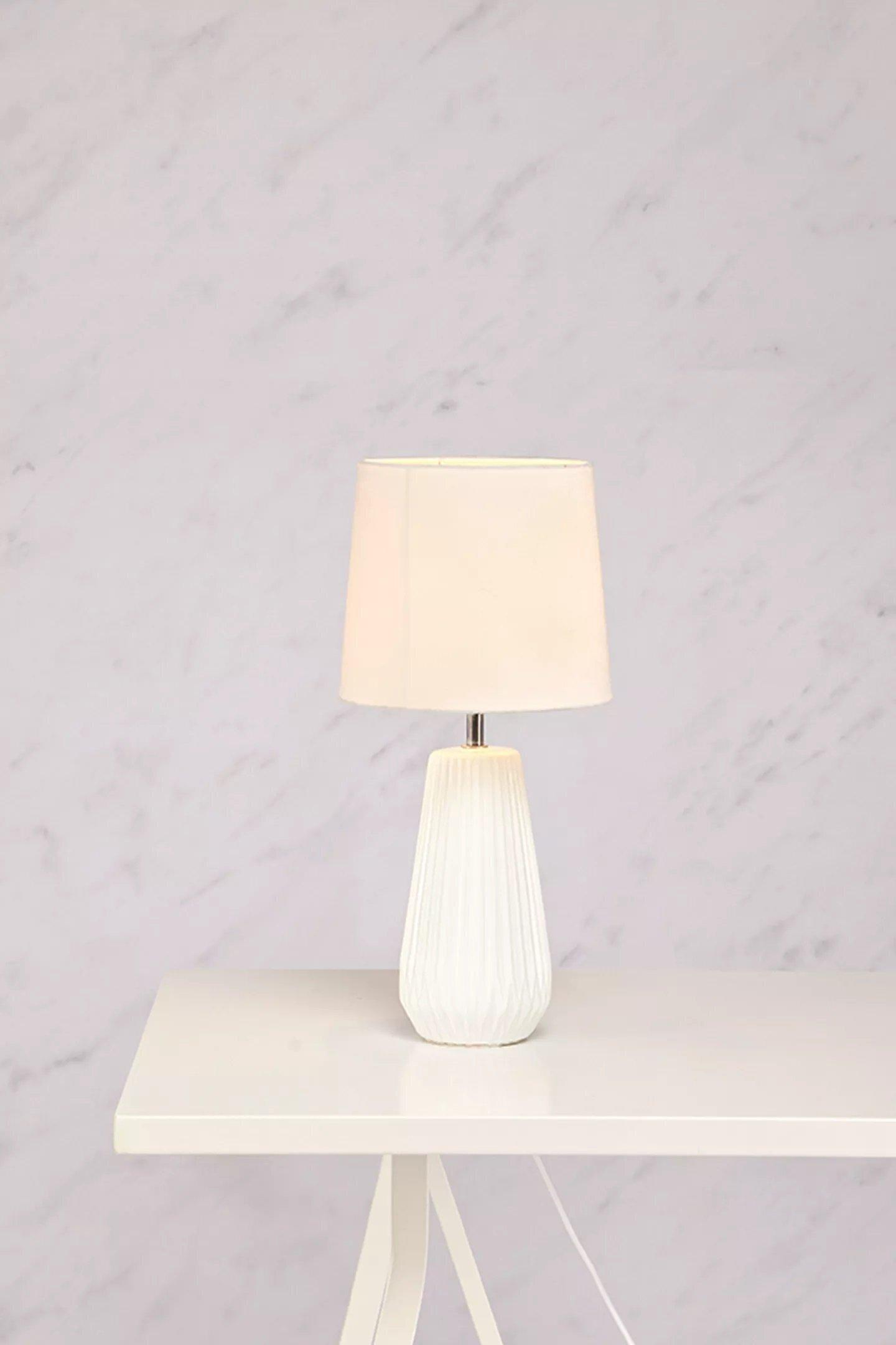 Bordlampa Nicci Vit - Markslöjd