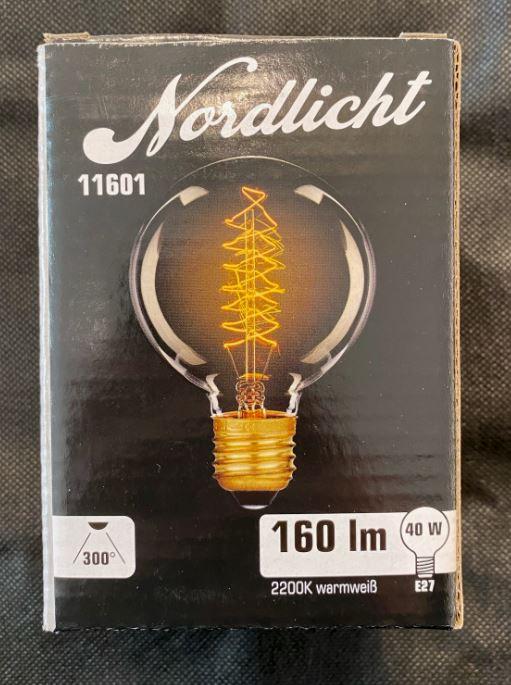 Koltrådslampa 40W E27
