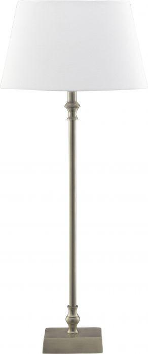 Bordslampa James krom/vit 52cm - PR Home