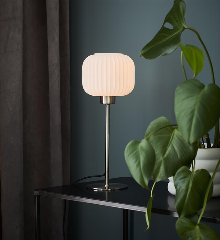 Bordlampa Sober Stål/vit - Markslöjd